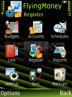 FlyingMoney / Мои финансы - Программа для Symbian 9