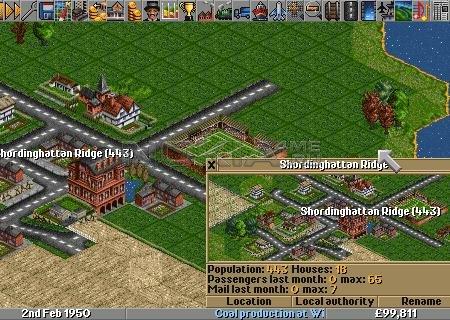 Transport Tycoon Deluxe - SIS игра на Symbian 9.4