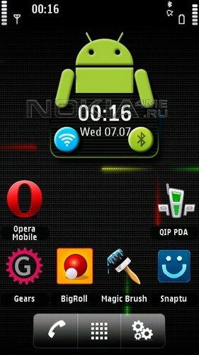 Android 2.2 Froyo - скин для SPB MobileShell