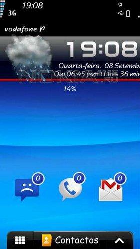 Combo 1.3 - скин для SPB MobileShell