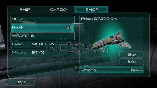 Galaxy on Fire - SIS игра для Symbian S60v5