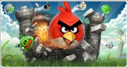 Angry Birds - Игра для Symbian^3