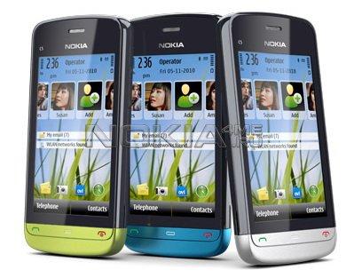 Nokia C5 Темы Часы