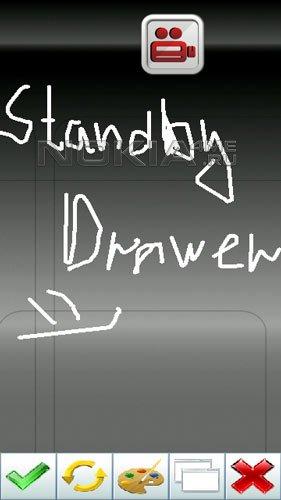 StandbyDrawer - Удобные заметки на Вашем Symbian 9.4