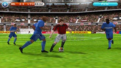 Real Football 2010 HD - Скачать бесплатно игру для Symbian^3