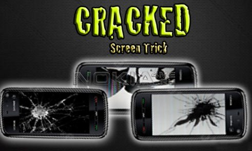 Cracked Screen Trick - Разбитый экран на Symbian S60v5