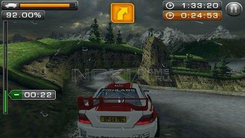 Rally Master Pro - Игра для Symbian^3