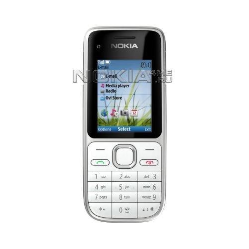 Nokia C2-01 – самый дешевый финский телефон с 3G