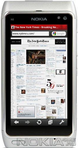 Opera Mobile v.10.1 Final - Браузер для смартфонов Nokia. Бесплатно.