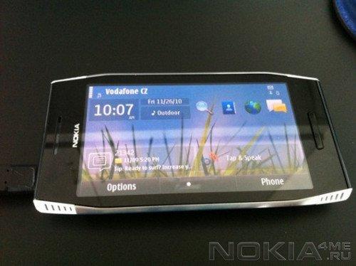 Засветился Symbian-смартфон Nokia X7-00