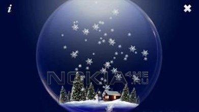 Snow Globe Touch - Стеклянный шар со снежинками