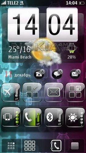 Android Freshyo - скин для SPB MobileShell