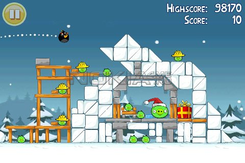 Angry Birds Seasons - ���� ��� Symbian^3