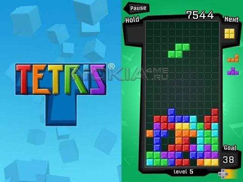 Tetris HD - Тетрис для Symbian 9.4 / S^3