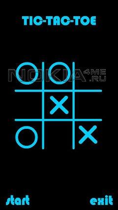 Tic-Tac-Toe Classic Blue - Классические Крестики-Нолики для Symbian 9.4