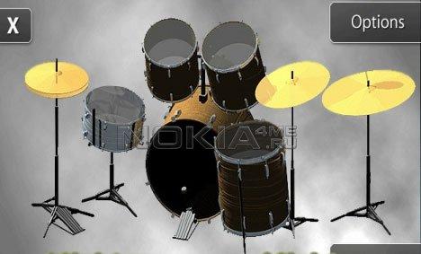 Drummer - эмулятор барабанной установки для Symbian 9.4