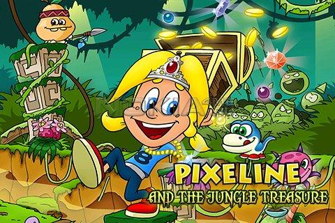 Pixeline & The Jungle Treasure - Java игра для Symbian 9.4 / Symbian^3