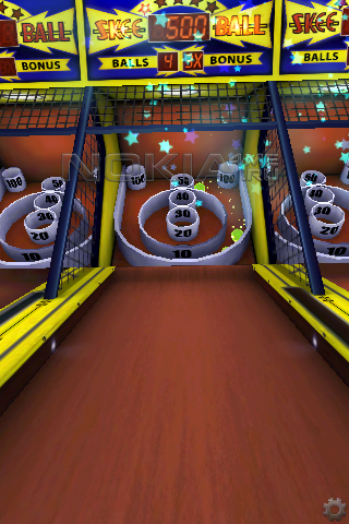 Skee-Ball от Gameloft - Java игра для Symbian 9.4