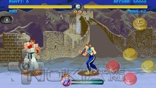 Street Fighter Alpha - Игра для symbian 9.4