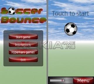 Soccer Bounce v.1.01 - Игра для symbian 9.4, ^3
