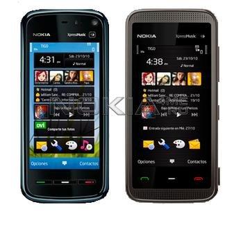 Symbian^3 интерфейс для Nokia 5800 и 5530