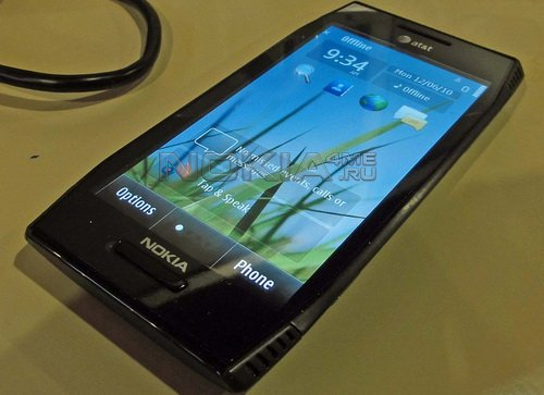 Nokia не хочет распространять смартфон X7-00 в США