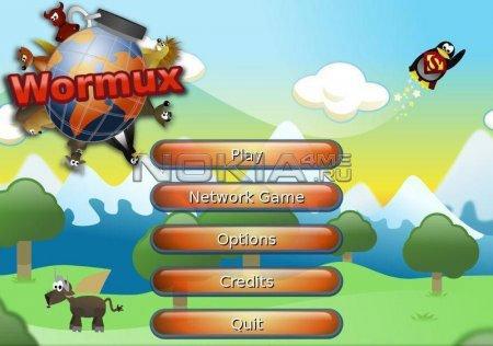 Wormux - SIS игра для Symbian^3 и Symbian 9.4