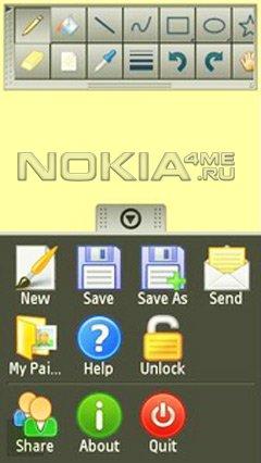 Handy Paint - Рисовалка для Symbian