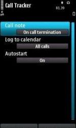 Call Tracker - приложение для Symbian 9.4, ^3