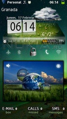 Desktop 2 - часы и погода для SPB MobileShell