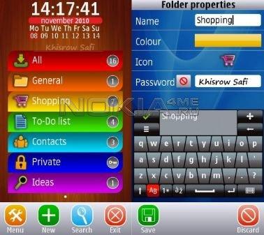 Smart Notes Lite - Текстовые заметки на Symbian