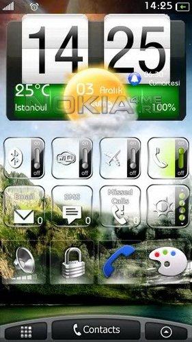 HTC Desire 2 - скин для SPB MobileShell