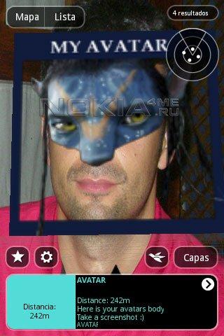 Layar - браузера дополненной реальности для Symbian