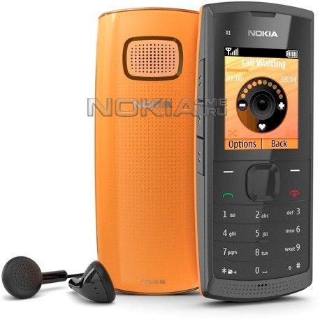 Nokia X1-00 - Дешевая и громкая новинка!