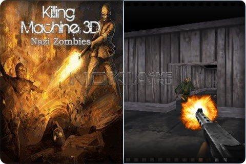 Killing Machine 3D Nazi Zombies - Игра для Symbian Touch