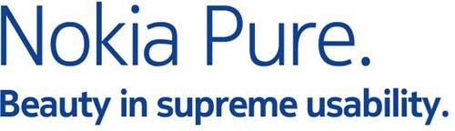 Nokia Pure - новый фирменный шрифт компании Nokia