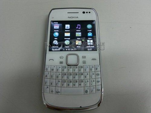 Смартфон Nokia E6-00 на видео и фото