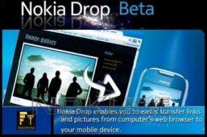 Nokia Drop - Программа для Symbian^3, 9.4