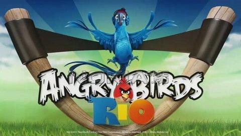 Angry Birds Rio - Игра для Symbian^3 / Belle