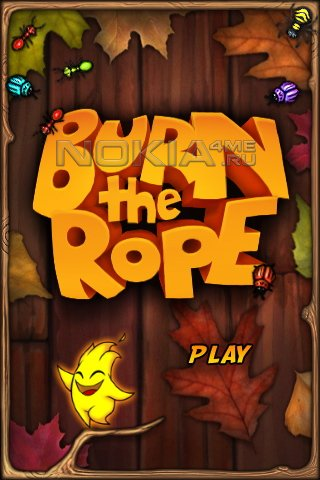 Burn The Rope -  Игра для Symbian^3