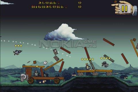 Angry cow - SIS игра для Symbian 9.4