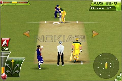 Cricket T20 Fever -  Sis игра для Symbian 9.4