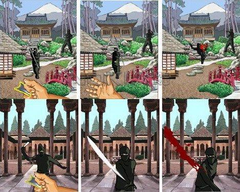 Mini Ninjas Game - java игра