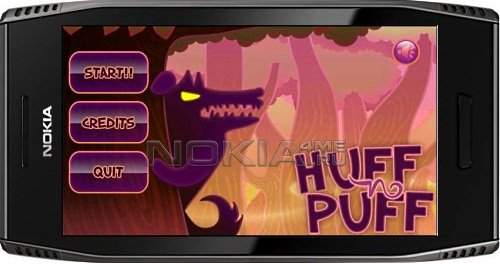 Huff and Puff - Игра для Symbian 9.4 / Symbian^3