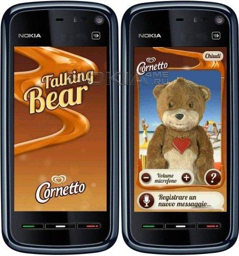 Talking Bear - Говорящий медведь для Symbian 9.4, Symbian^3