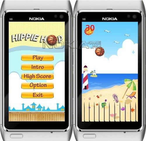 Hippie Hop - Игра для Symbian 9.4, Symbian^3