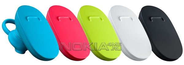 Nokia BH-112: простая и яркая Bluetooth-гарнитура