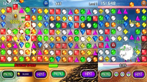 Bejeweled 2 HD - Игра для Symbian 9.4-^3