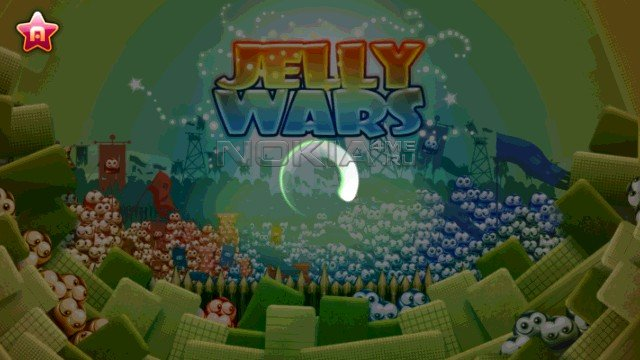 Jelly Wars Free - Игра для Symbian^3