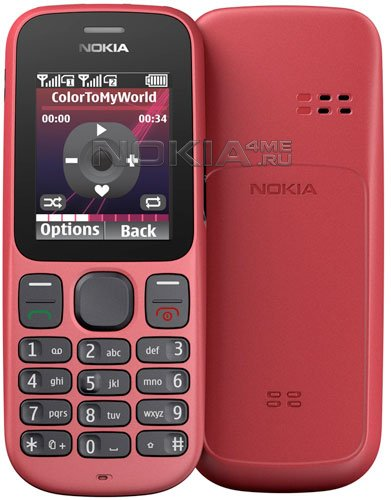 Nokia 100 и 101: дешевые телефоны на Series 30